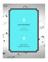 Joy to the World - piano duet