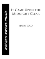 PIANO SOLO - It Came Upon a Midnight Clear
