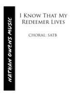 SATB - I Know That My Redeemer Lives