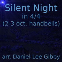 Silent Night in 4/4 handbells