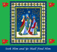 Seek Him and Ye Shall Find Him